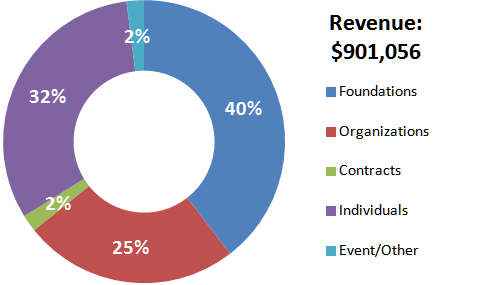 2015 revenue snapshot