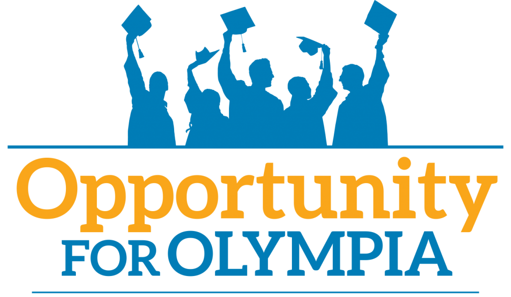 opportunity for olympia logo