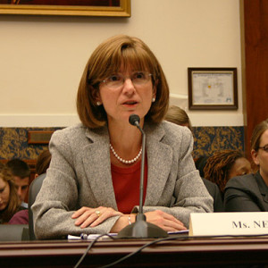 Debra Ness, president of the National Partnership, testifying before Congress on FMLA in 2009