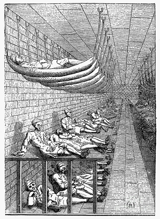 A debtor's prison in London.